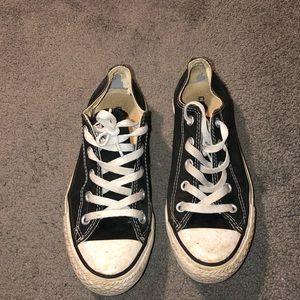 Black Converse Low Top